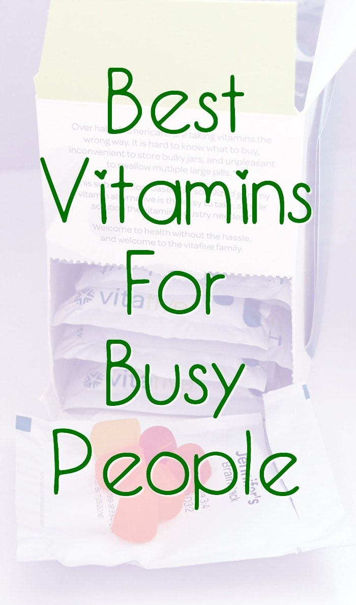 Best Daily Vitamins for Busy People