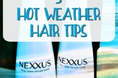 5 Hot Weather Hair Tips and $50 Giveaway