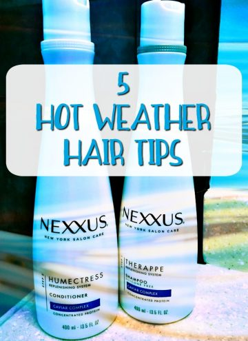 5 Hot Weather Hair Tips
