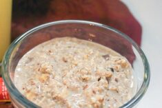 Simple Overnight Oats Recipe with Dark Chocolate