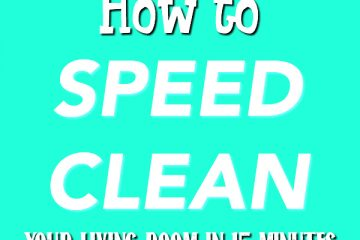 How To Speed Clean Your House After Traveling