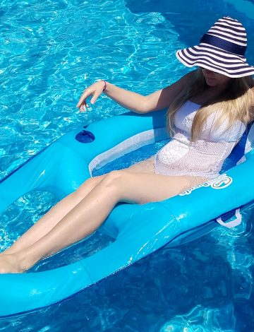 Every Adult with a Pool Needs These Swimming Pool Floats