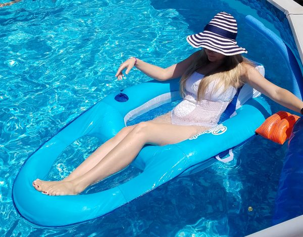 Best swimming pool floats for adults - #SwimWays #IC ad