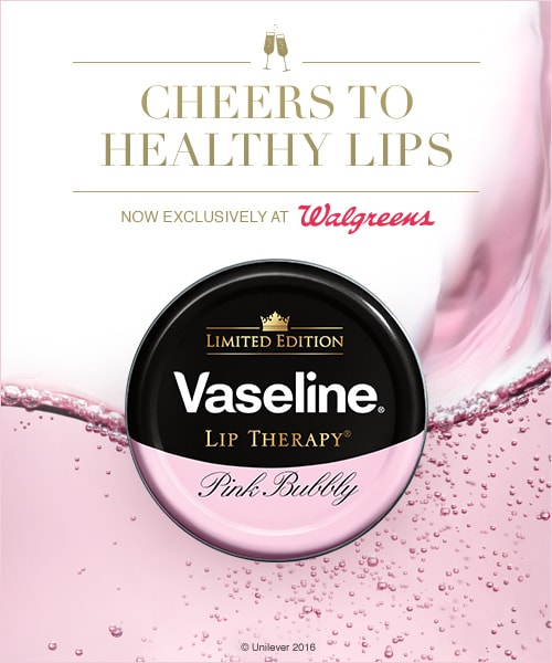 Vaseline Lip Therapy Pink Bubbly Exclusively at Walgreens