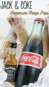 Jack and Coke Homemade Freeze Pops Recipe