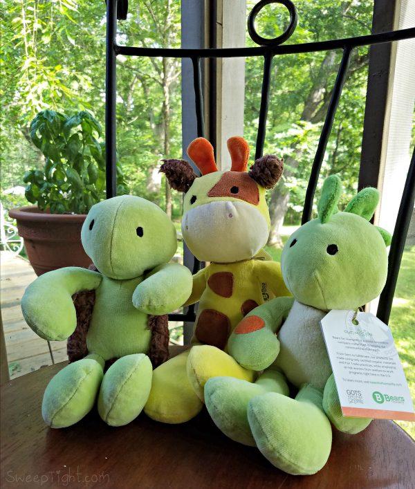 Bears for Humanity - Organic Cuddly Stuffed Animals #BearsForHumanity