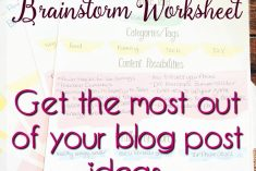 Get the Most out of Your Good Blog Post Ideas - Printable