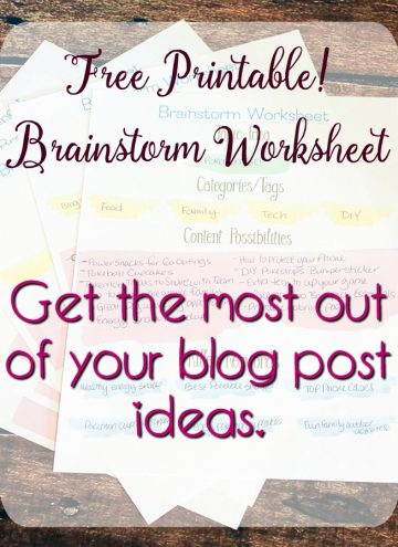 Get the Most out of Your Good Blog Post Ideas – Printable
