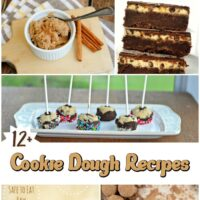 12 Edible Cookie Dough Recipes Roundup