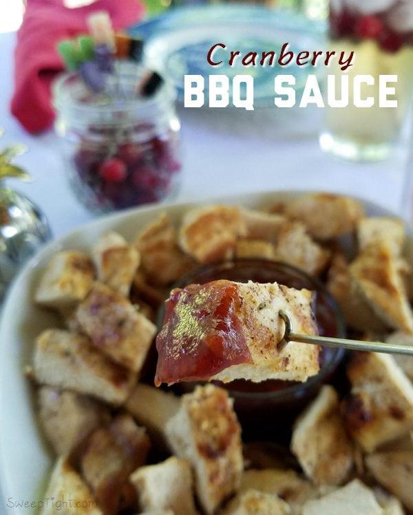 Summer Cranberry BBQ Sauce Recipe