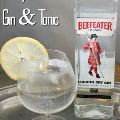 How to Make a Proper Gin and Tonic Recipe
