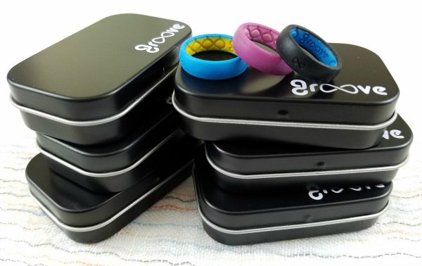 Surprise Boxes - Unboxed - Groove Silicone rings for athletes