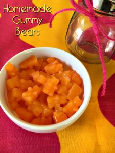 Homemade Gummy Bear Recipe - Hidden Vegetable