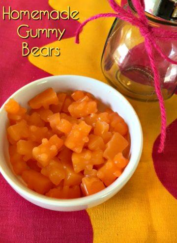 Homemade Gummy Bear Recipe - Hidden Vegetable
