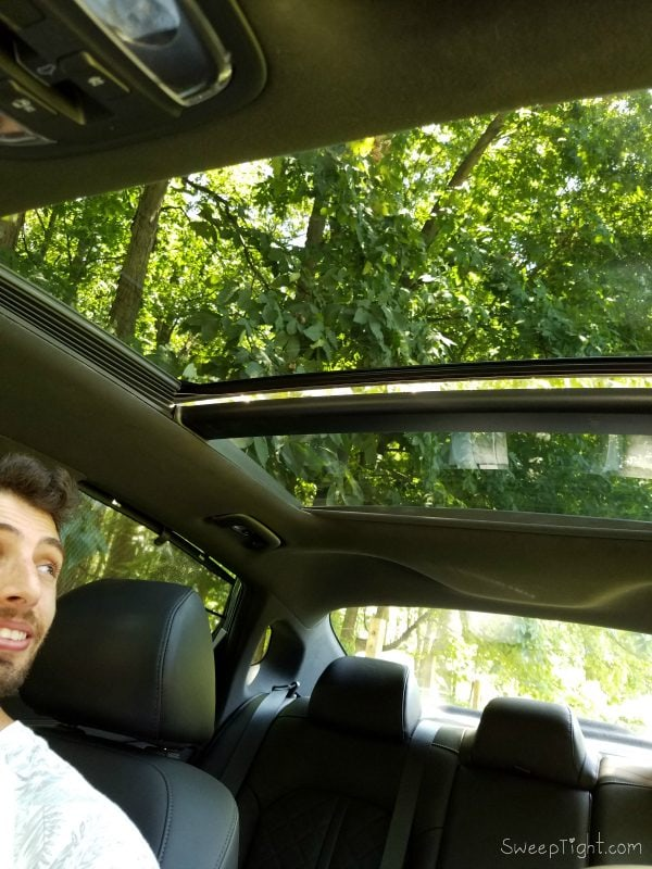 2016 Kia Optima Review - that sunroof though