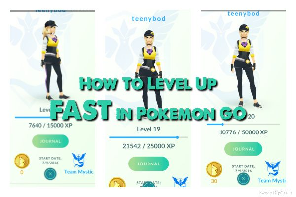 How To Level Up Fast In Pokemon Go A Magical Mess