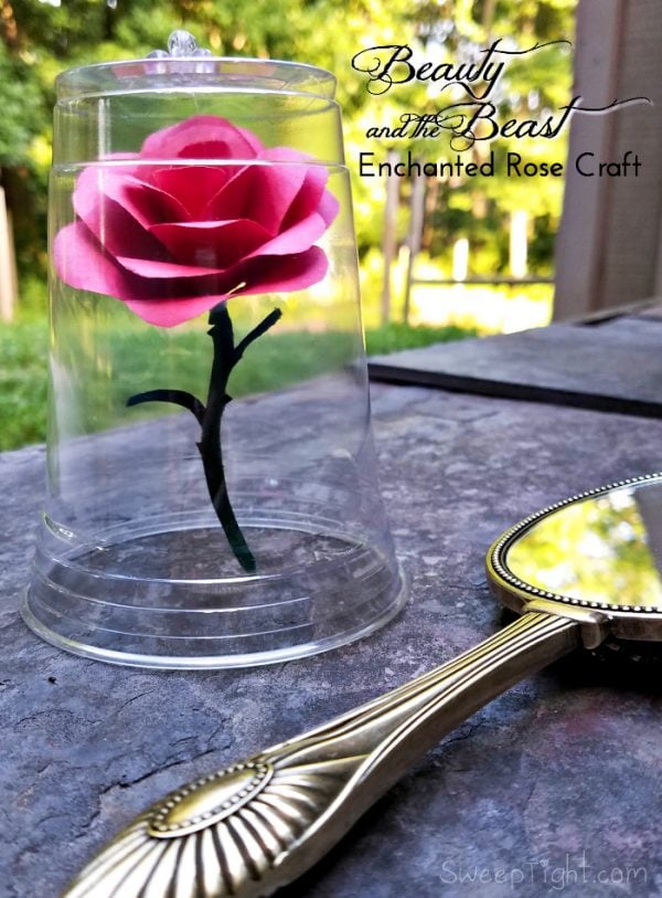 Disney Crafts For Kids Beauty And The Beast Enchanted Rose
