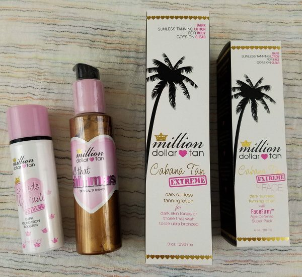 Surprise Boxes - Unboxed - Million Dollar Tan Sunless Tanning products