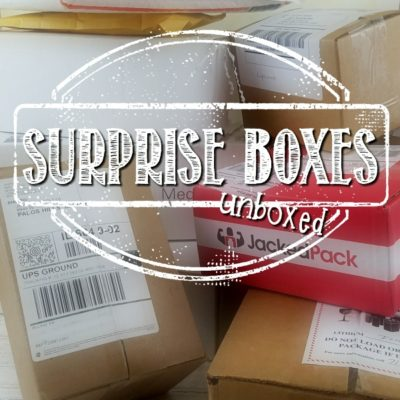 Round 4 – Surprise Box Unboxings