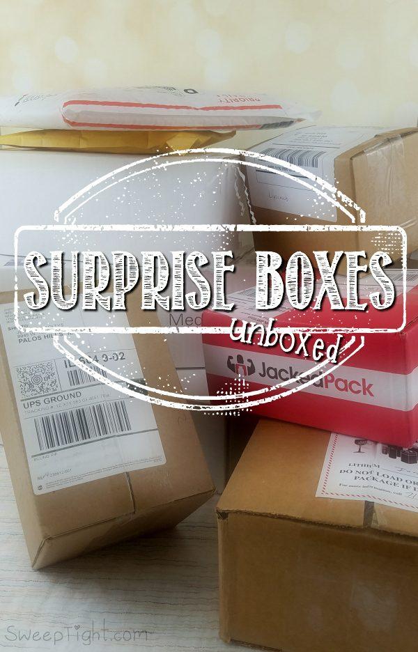 Surprise Boxes - Unboxed