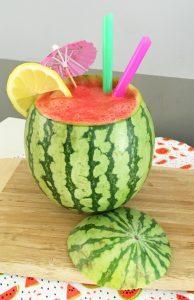 DIY Fresh Watermelon Cocktails – Easy Fruit Slushies