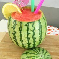 DIY Fresh Watermelon Cocktails - Easy Fruit Slushies