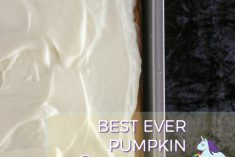 Seriously the best pumpkin squares recipe ever. Moist and delicious.
