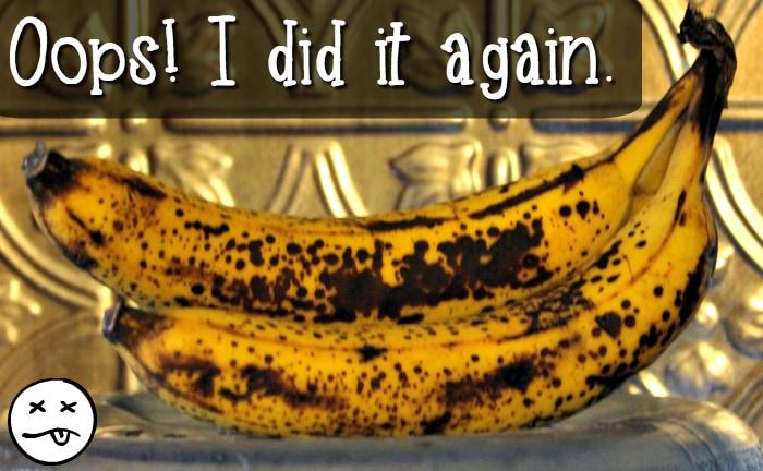 Banana neglect