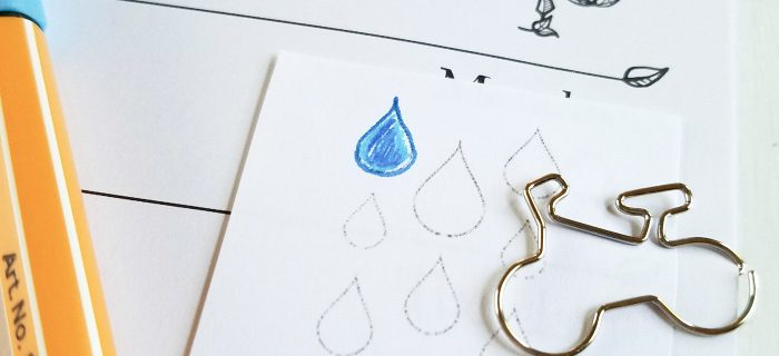 Track Water Intake to Stay Hydrated – Free Printable