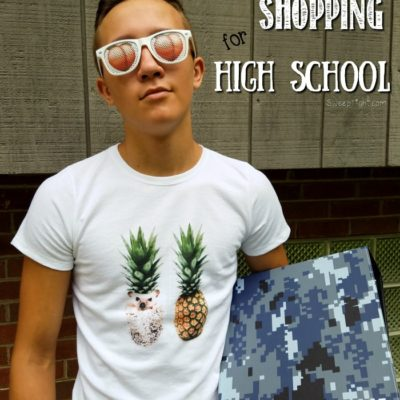 Back To School Shopping Online for High Schoolers