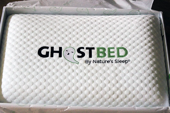 GhostPIllows are surprisingly light in weight. The pillows stays cool all night and adjusts to the temperature around you.