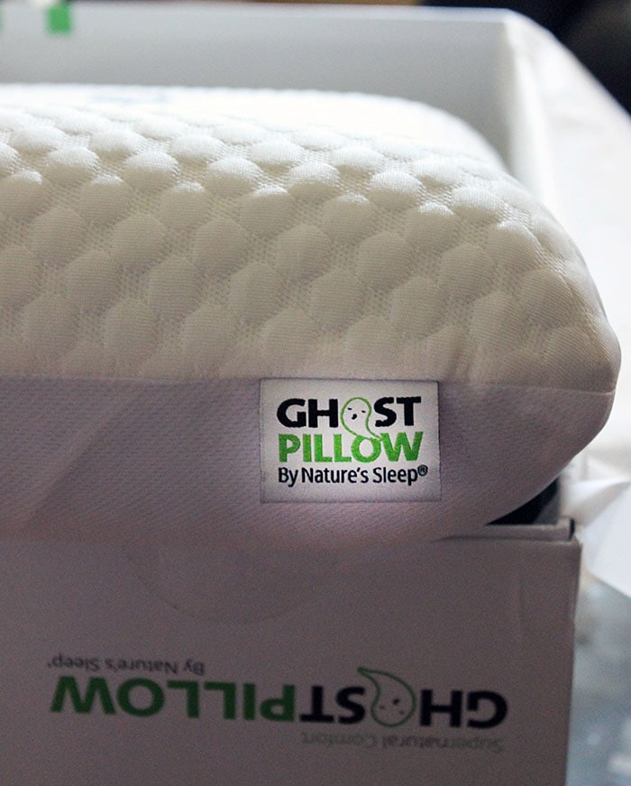GhostPillows are designed to adjust to your body and align your neck and head just right.