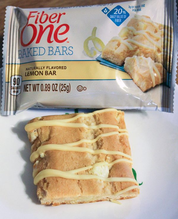 New Fiber One Lemon Bars