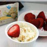 Lemon Cake Yogurt Fruit Dip Recipe for One