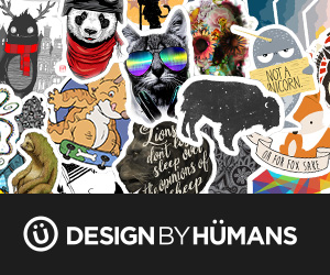 Design by Humans banner