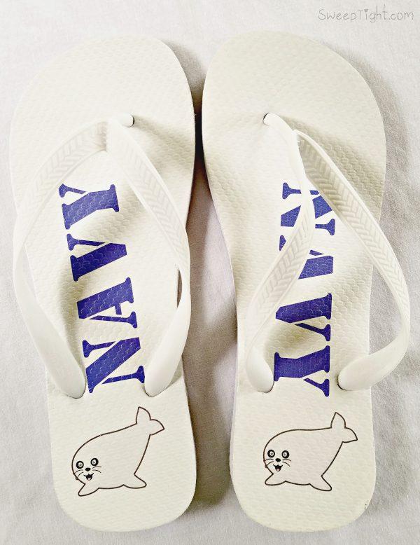 Navy seal flip flops