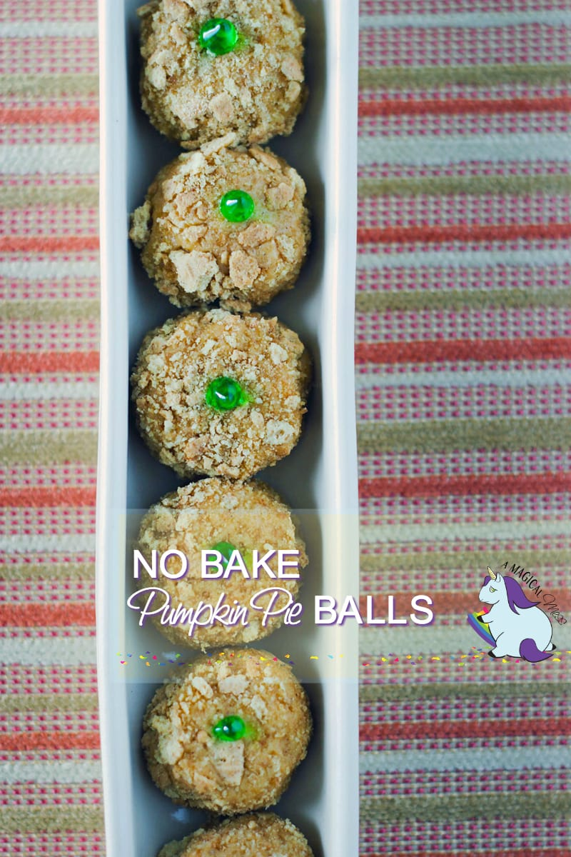 No bake pumpkin pie balls recipe