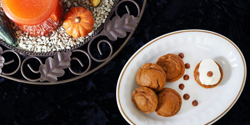 Mini Pumpkin Cake Bites Recipe