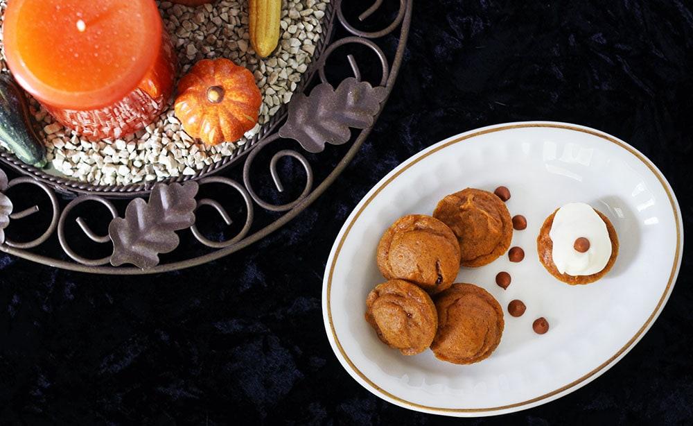 Mini Pumpkin Cake Bites Recipe
