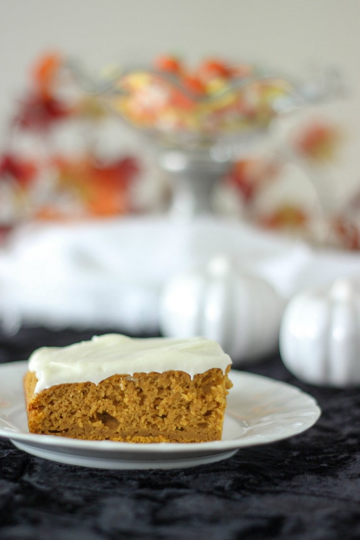 Recipe for pumpkin squares
