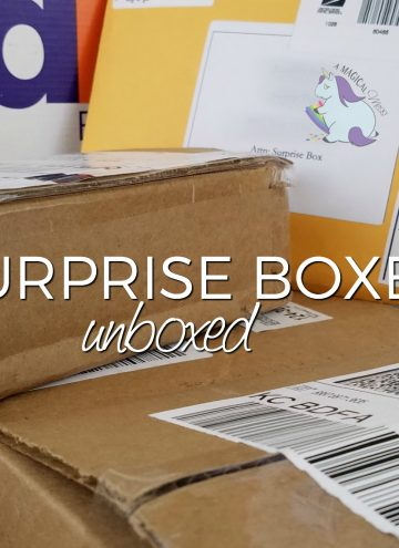 Round 5 – Surprise Box Unboxings