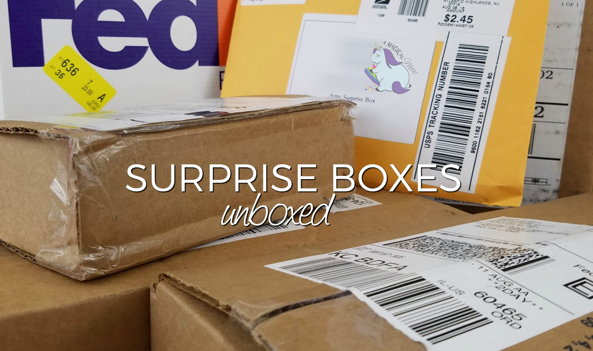 Round 5 – Surprise Box Unboxings