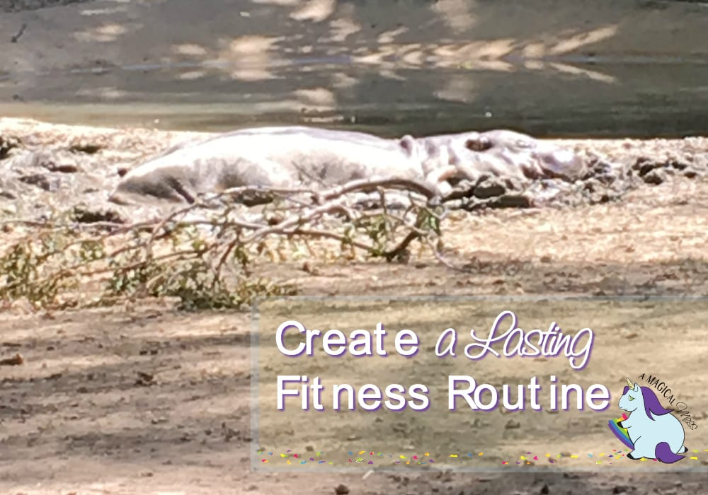 Create a daily fitness routine. Eventually, it because habit.
