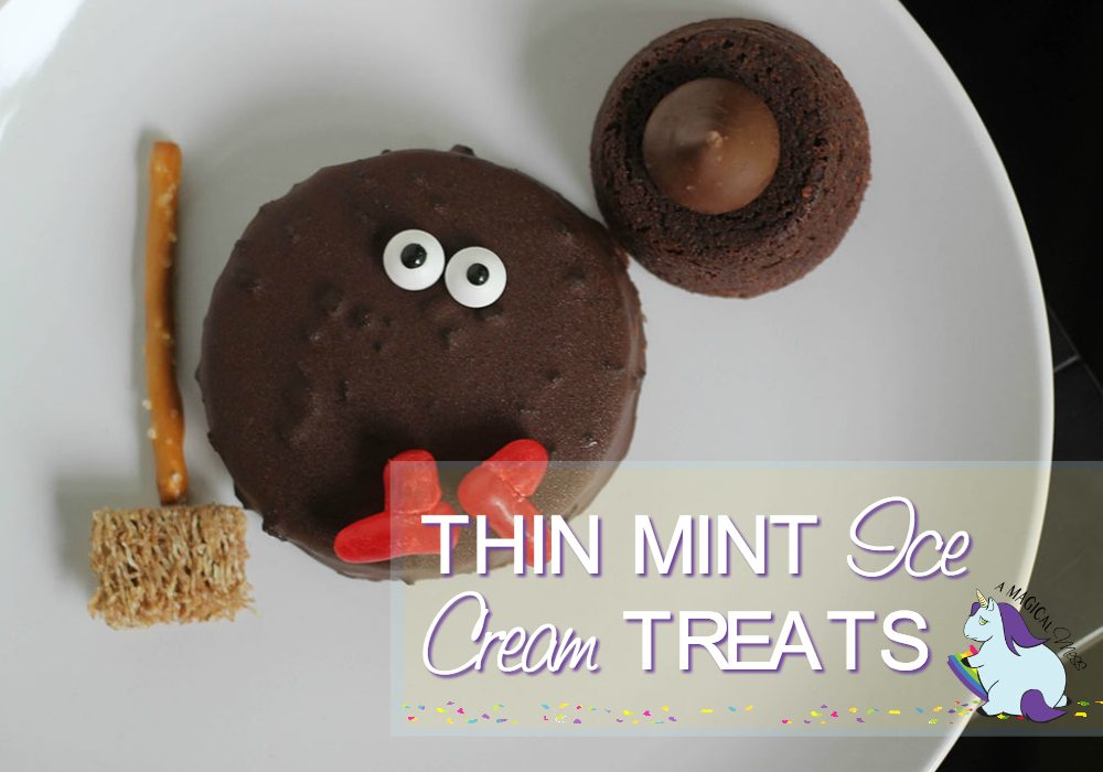 Thin Mints Ice Cream Melted Witch Treat