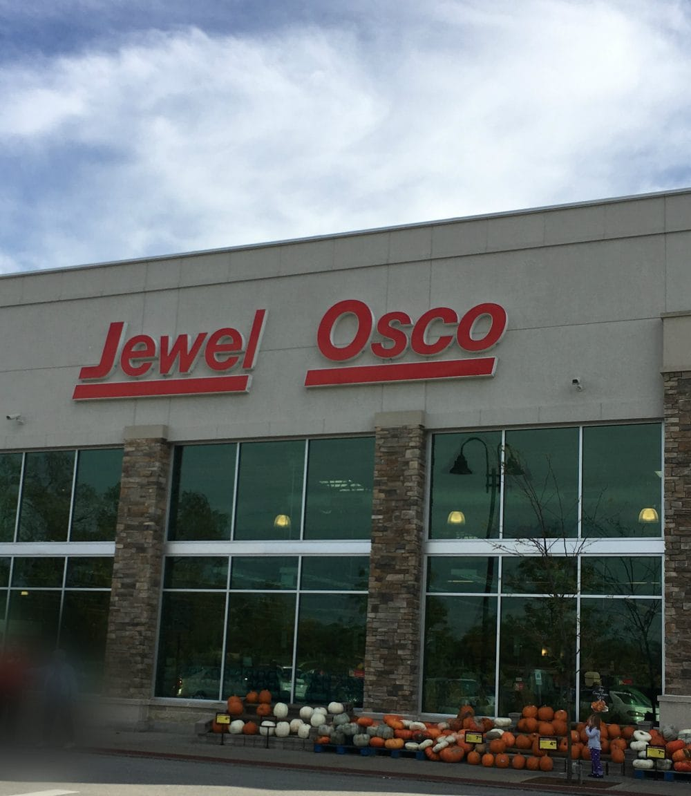 Heading into Jewel Osco