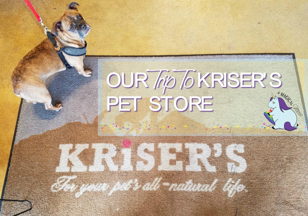Our trip to Kriser's Natural Pet store