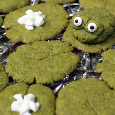 Lily Pad Matcha Green Tea Cookies Recipe