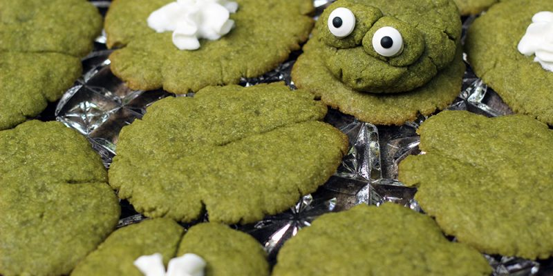 Lily Pad Matcha Green Tea Cookies Recipe