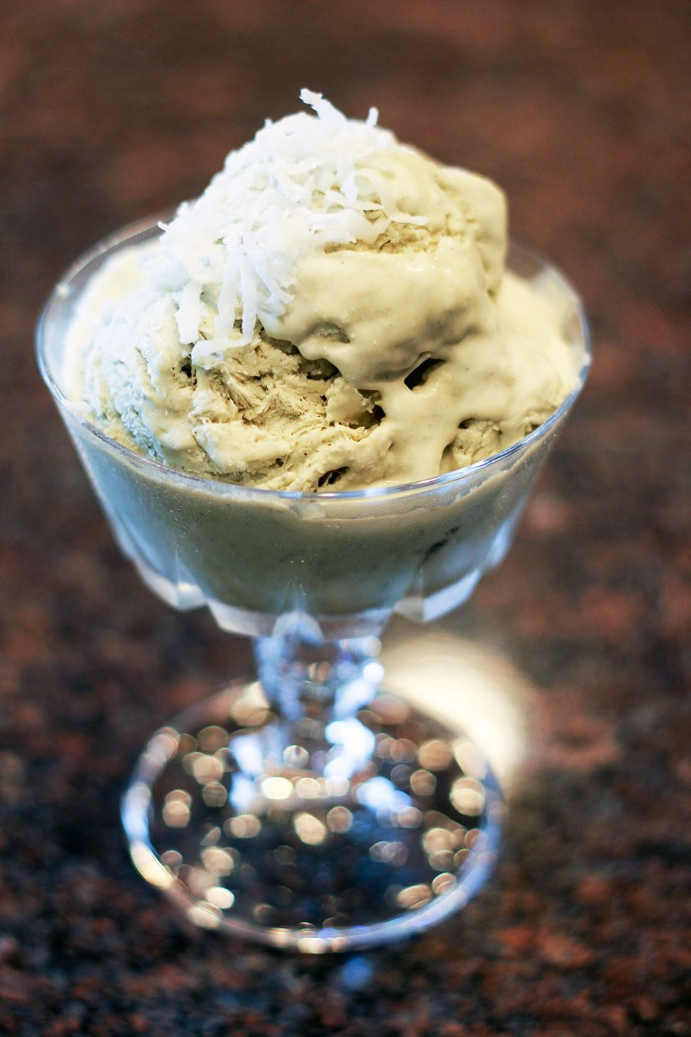 No Churn Green Tea Matcha Ice Cream Recipe