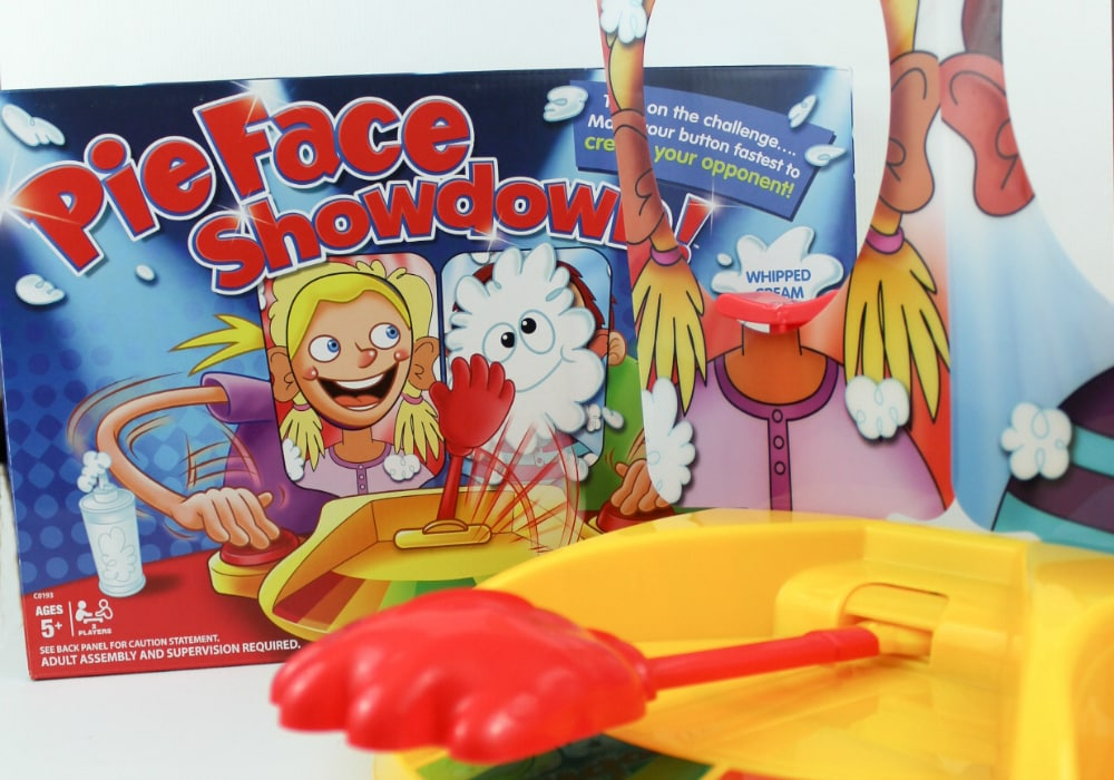 New Pie Face Game Settles Sibling Arguments